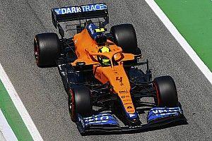 مكلارين لم تنتهِ بعد من تحديث سيارتها لموسم 2021 في الفورمولا واحد