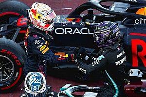 "Verstappen, ""feliz"" de quedar tan cerca de Hamilton en Barcelona"