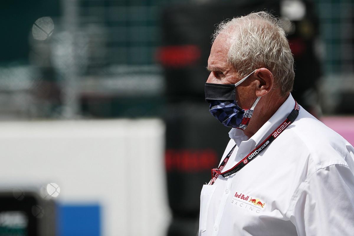 F1: Marko critica show da Mercedes em acidente entre Verstappen e Hamilton