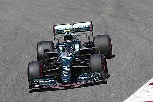 Vettel sufre con la inconsistencia del coche, dice Aston Martin