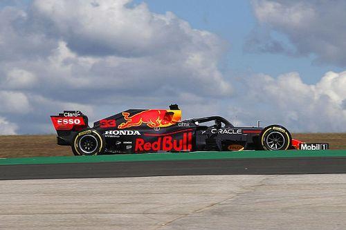 """Verstappen no disfrutó en un Portimao """"súper resbaladizo"""""""