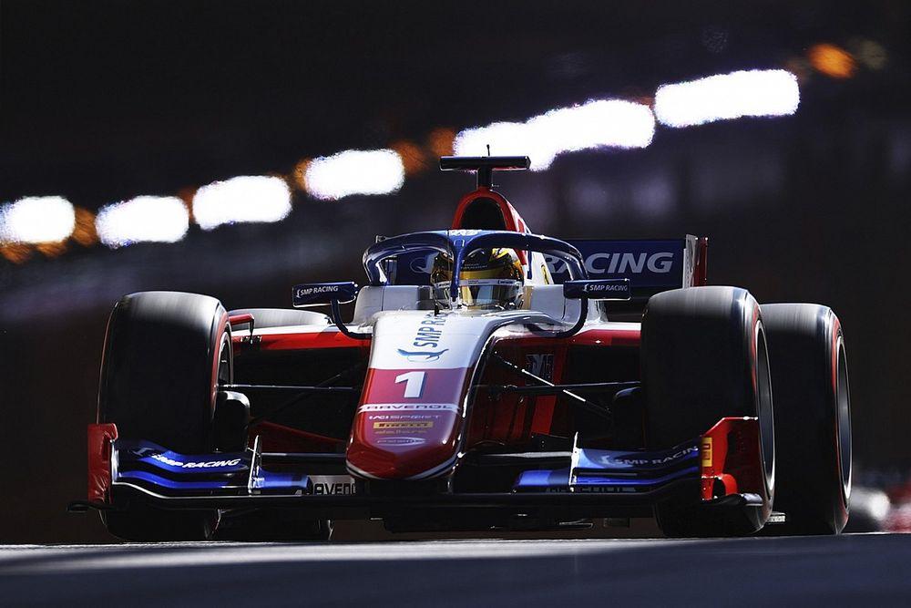 Monaco F2: Shwartzman fastest in interrupted practice session