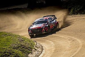 Portugal WRC: Tanak holds overnight lead after dramatic Friday