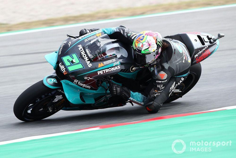 MotoGPカタルニアFP3:モルビデリ首位でファクトリーヤマハ抑える。ロッシ10番手でQ2進出