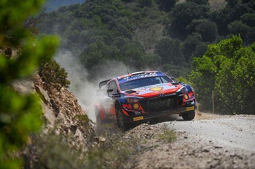 Tanak arrancó al frente en el Rally de Cerdeña
