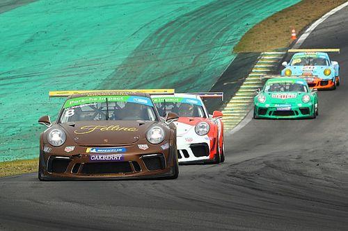 Veja como foram as corridas de sábado da Porsche Cup em Interlagos