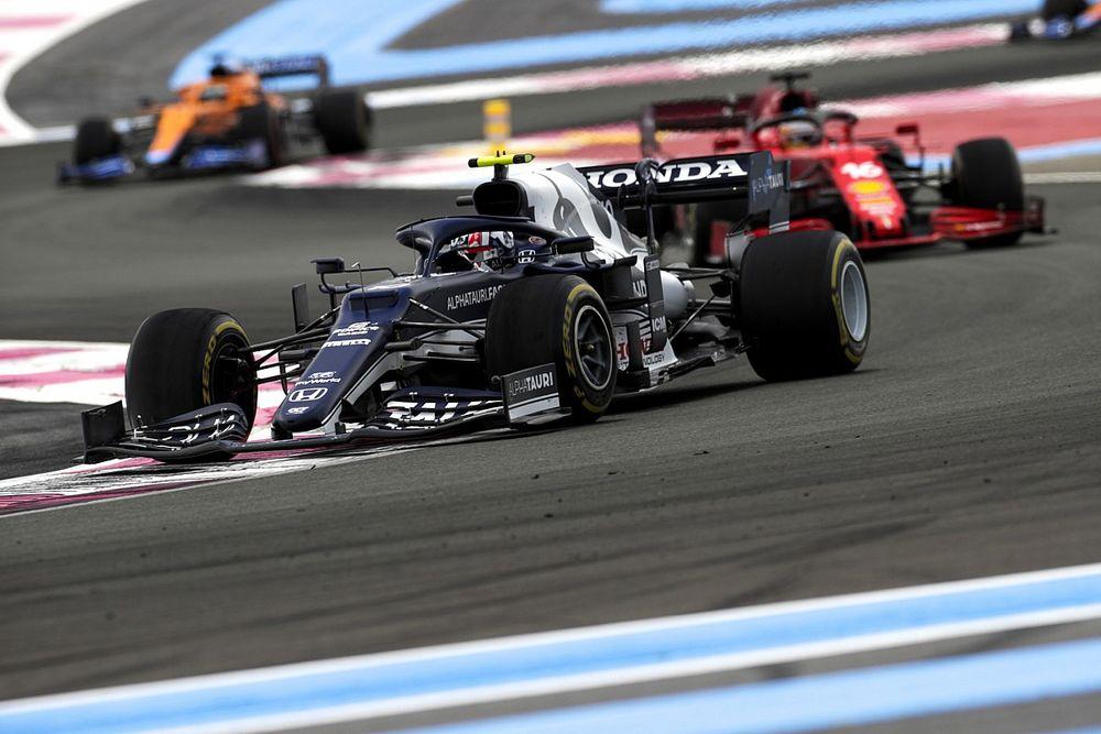 غاسلي يردّ على انتقادات نوريس لطريقته في التجاوز خلال سباق فرنسا