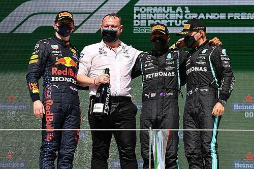 Hamilton, Verstappen és Bottas új rekordot állított fel Portugáliában