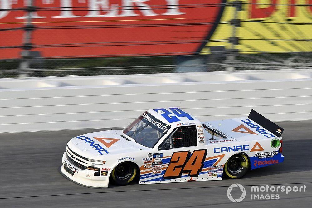 Funding issues cut short Lessard's NASCAR Truck season