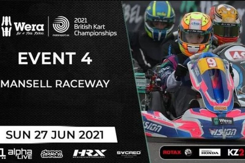 Suivez le British Kart Championship en direct sur Motorsport.com