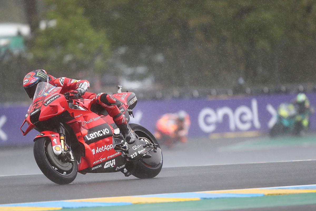 Bagnaia Lucky French Motogp Was Wet After Bike Issue