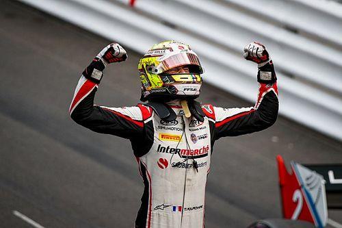 Théo Pourchaire plus jeune vainqueur de la F2!