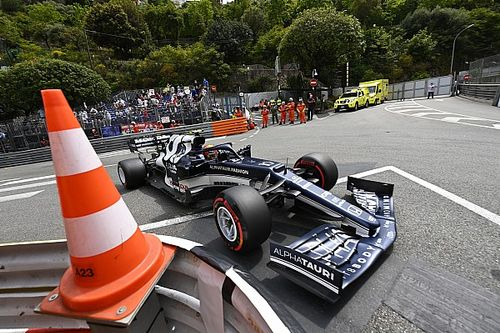 """Gasly, Vettel could have """"ended up in the harbour"""" in Monaco"""