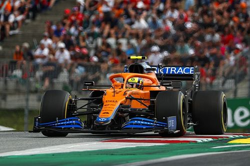 """McLaren: """"Straf voor Norris in Oostenrijkse GP complete onzin"""""""