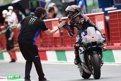 Куартараро в одни ворота выиграл гонку MotoGP в Муджелло