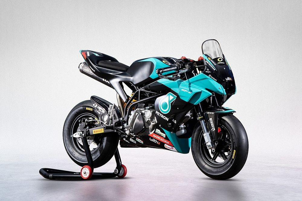 Petronas SRT Rilis Replika MiniGP Rossi-Morbidelli