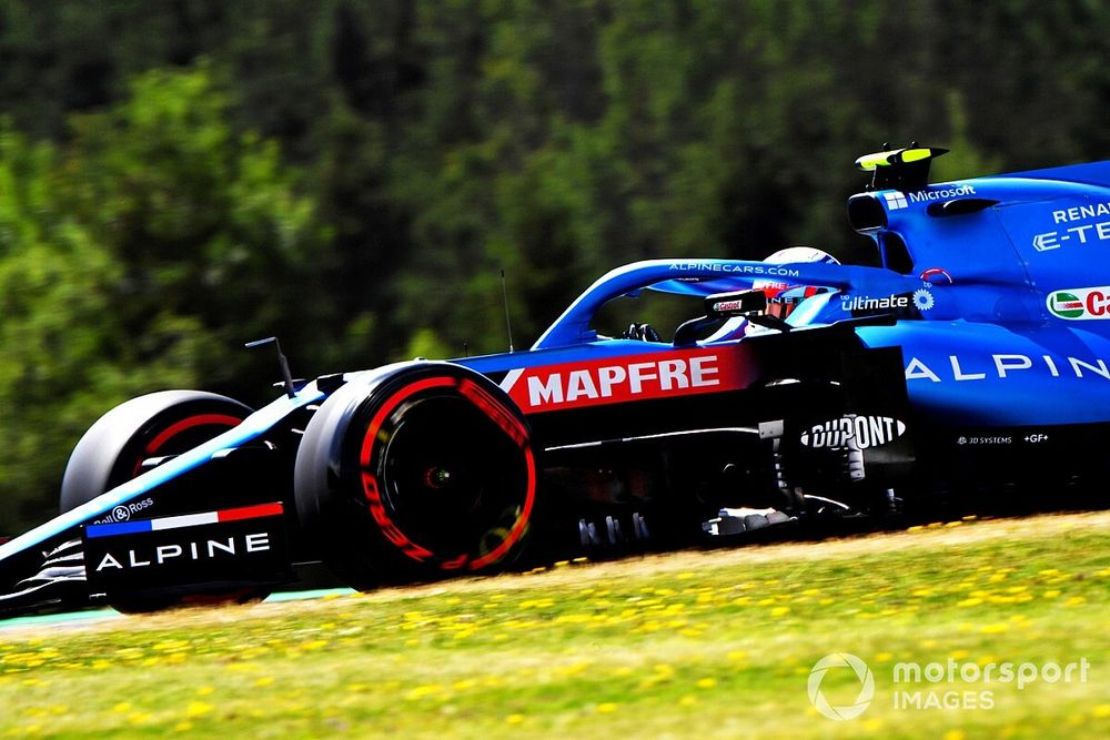 Ocon, Britanya GP'de yeni şasiye geçecek