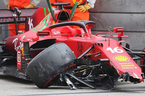 F1: Acidente na classificação não teve relação com abandono de Leclerc, segundo Ferrari