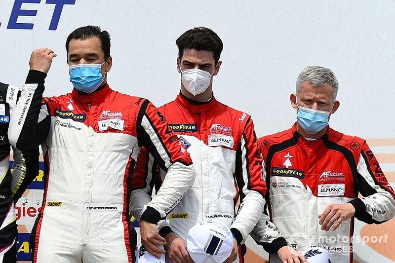 ELMS: Rovera sale sul podio a Le Castellet con la Ferrari