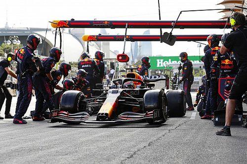 Red Bull ook in Baku toonaangevend met razendsnelle pitstop