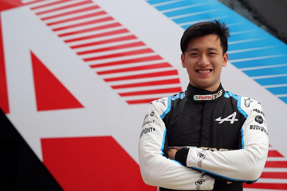 周冠宇、オーストリアGPのFP1でアルピーヌのマシンをドライブへ。F1公式セッションデビューが決定