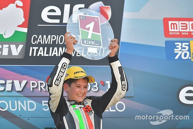 Morosi vince al Mugello, ma non basta per il titolo della 250 4T. Nella 125 2T Bianchi è il nuovo leader