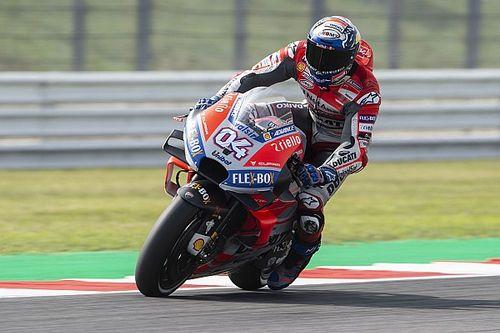 Dovizioso nyert San Marinóban, Lorenzo a második helyről csúszott ki 2 körrel a vége előtt!