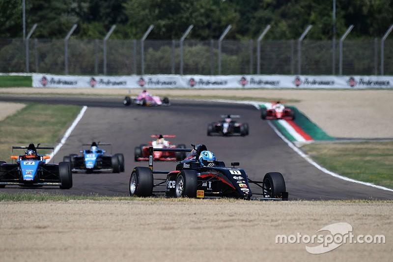 Lorandi vince Gara 1 ad Imola e torna leader del Tricolore di Formula 4
