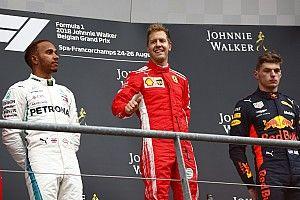 """Hamilton : """"Ferrari nous a écrasés"""""""