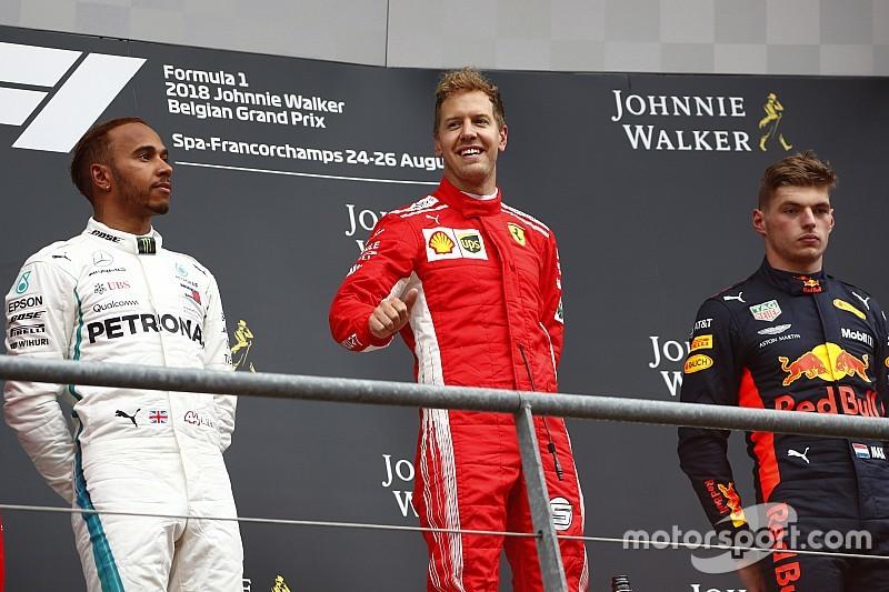 Ecclestone : Vettel et Hamilton ne voudraient pas de Verstappen