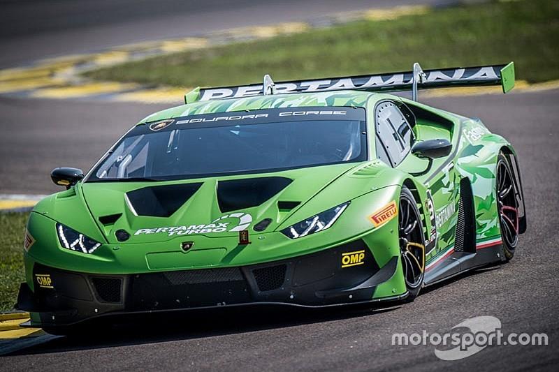 Lamborghini presenta la Huracán GT3 EVO: evoluzione in pista