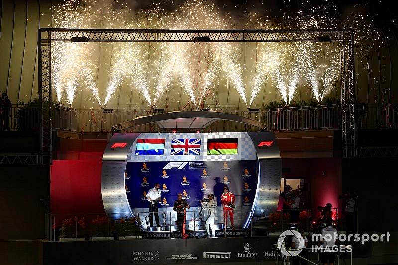 El semáforo del GP de Singapur 2018 de F1