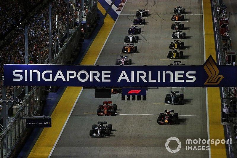 La pollution de l'air inquiète avant le GP de Singapour