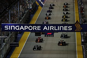 La pollution de l'air inquiète avant le GP de Singapour