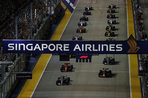 Allerta aria insalubre per il GP di Singapore