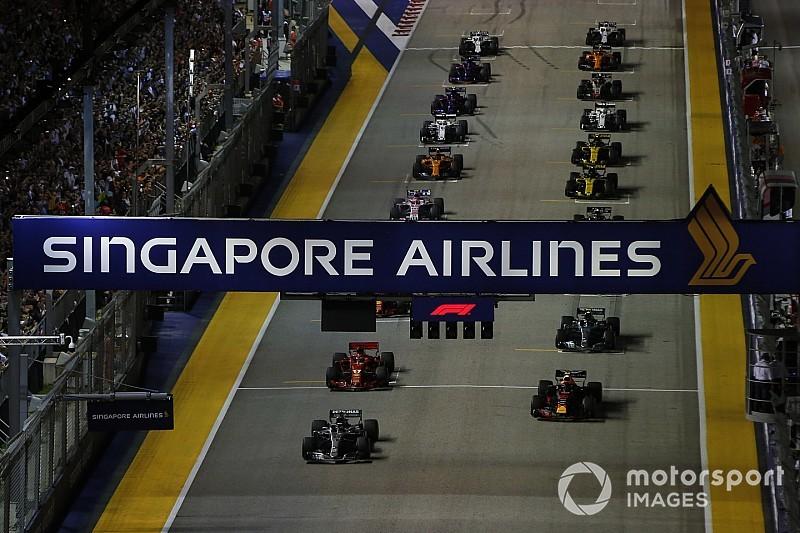 GP de Singapura recebe conselhos do governo sobre crise de ar poluído que afeta região