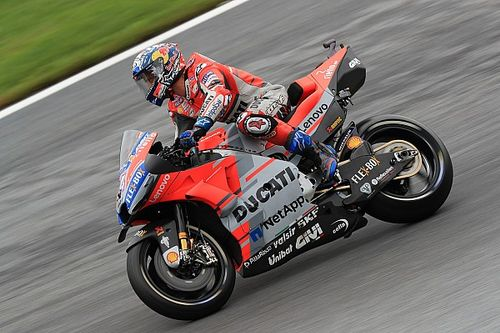 MotoGP Austria: Dovizioso kuasai warm-up, Marquez terjatuh