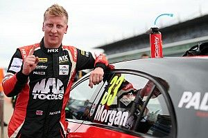 Rockingham BTCC: Morgan scores first ever pole