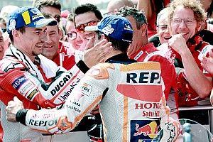 Márquez e Lorenzo selam as pazes