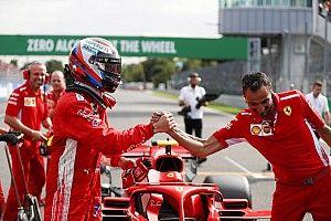 Fotogallery: le Ferrari di Raikkonen e Vettel, conquistano la prima fila a Monza