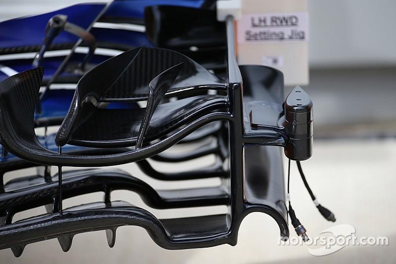 McLaren: c'è una telecamera sull'ala anteriore per misurare le flessioni