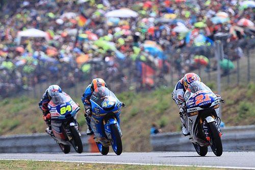 Fotogallery: la prima vittoria di Fabio Di Giannantonio in Moto3 a Brno