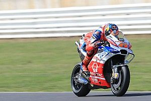 Miller 'let himself down' in third-lap Misano crash