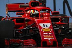 """Vettel: """"Peccato per la toccata a muro, ma la Ferrari ha del gran potenziale"""""""