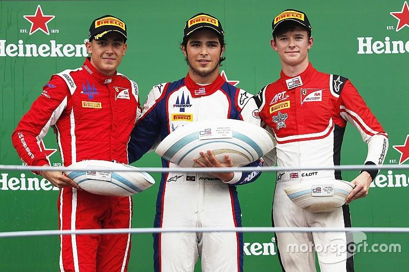 Piquet supera Alesi e vence em Monza na GP3