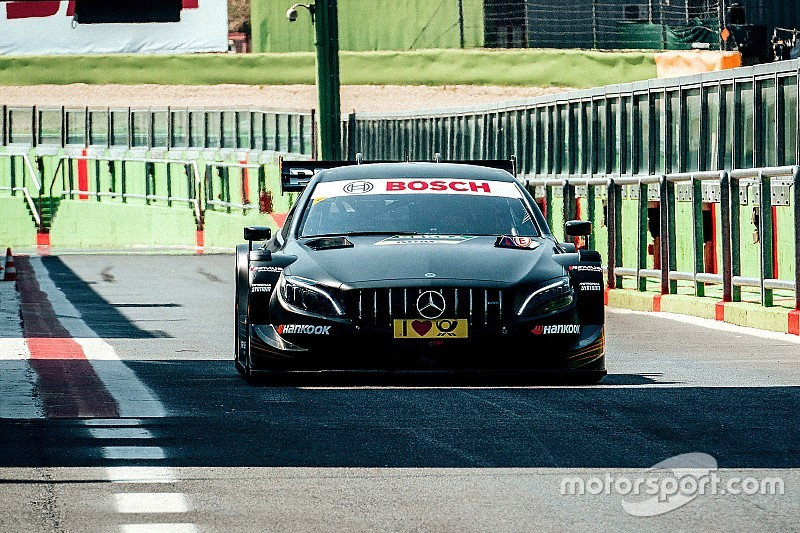 Ogier bemutatkozik a DTM-ben a Mercedesszel