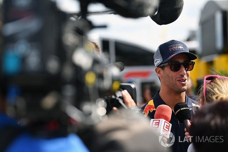 Renault: Ricciardo geloofde niet in Honda-project Red Bull
