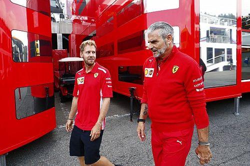 Vettel Sebut Dua Nama Paling Penting di Ferrari