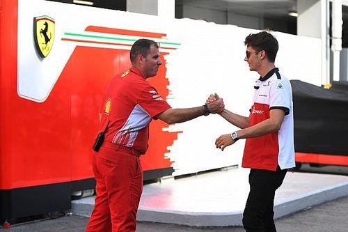 Leclerc: Ferrari böyle devam ederse 2019'daki hedefim şampiyonluk