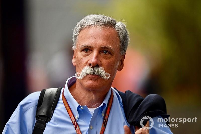 "Carey: F1 promoters criticism ""a little strange"""